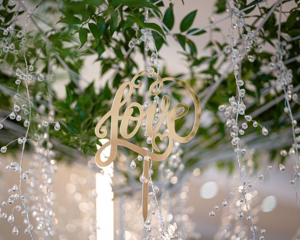 Allestimento sala wedding