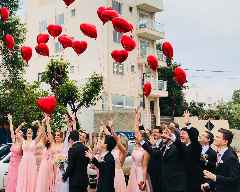 Palloncini wedding